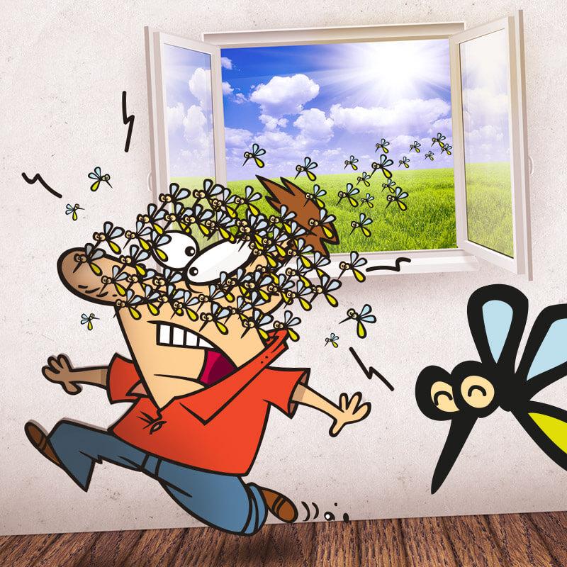 Elimina le fastidiose zanzare